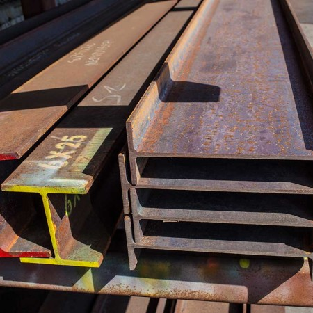 Hot rolled carbon steel Structural Beams